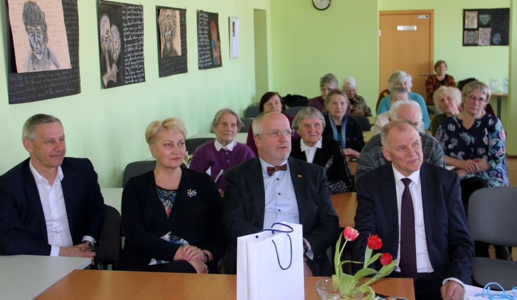 ZARASUOSE EUROKOMISARO VYTENIO POVILO ANDRIUKAIČIO VIZITAS